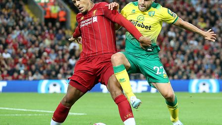 Virgil van Dijk revealed Liverpool had treated Norwich City with the utmost respect Picture: Paul Ch