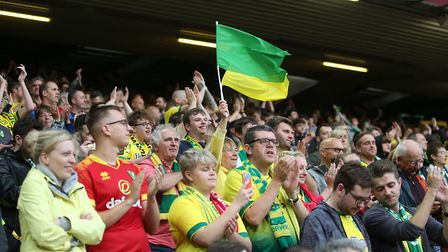 Norwich City fans at Anfield - they know their stuff... Picture: Paul Chesterton/Focus Images Ltd