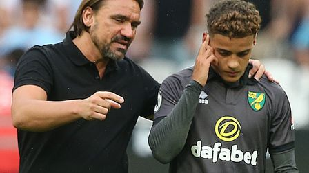 Daniel Farke has guided Max Aarons from Norwich City's academy to the Premier League, and now Englan
