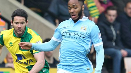 Raheem Sterling returns to Carrow Road bang in form for club and country Picture: Paul Chesterton/Fo
