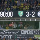 The scoreboard tells the story during the Premier League match at Carrow Road, NorwichPicture by Pau