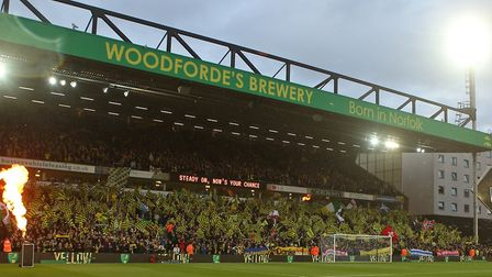 Carrow Road's rejuvenated atmosphere reached its peak ahead of the final home game of last season, w