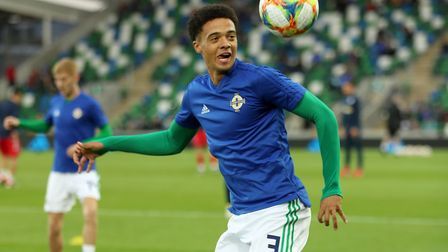 Norwich City left-back Jamal lewis was an unused substitute as Northern Ireland beat Luxembourg in a
