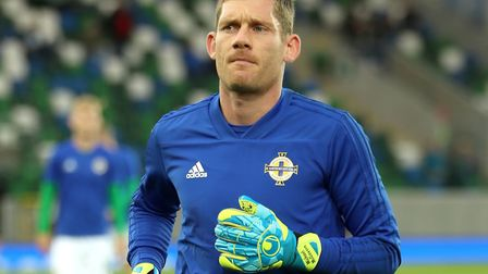 Canaries keeper Michael McGovern came on as a substitute as Northern Ireland beat Luxembourg Picture