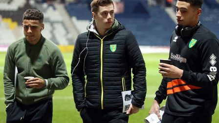 Norwich City's England Under-21s trio have caught the eye of Aidy Boothroyd Picture: Paul Chesterton