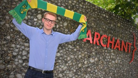 Connor Southwell is the new Norwich City reporter. Picture: Jamie Honeywood