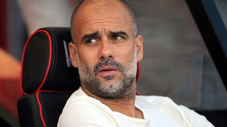 Manchester City manager Pep Guardiola is looking forward to his first experience of Carrow Road Pict