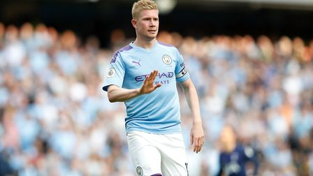 Kevin De Bruyne - the most dangerous of all the Manchester City players? Picture: PA