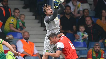 Norwich City number one Tim Krul has responded well to the challenge from summer loan signing Ralf F
