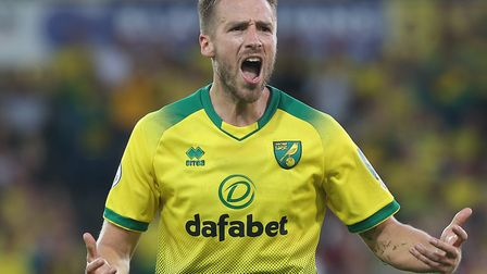 Marco Stiepermann urged the Carrow Road crowd to crank up the volume during Norwich City's unlikely