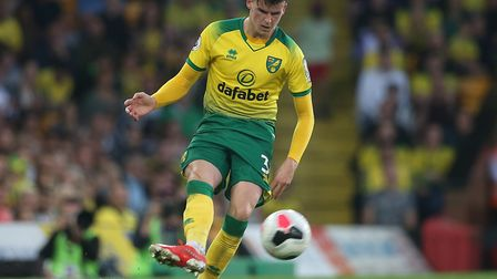 Sam Byram made his first Premier League start for Norwich City at the weekend Picture: Paul Chestert