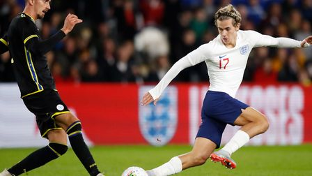 Norwich City and now England Under-21s' international Todd Cantwell Picture: PA