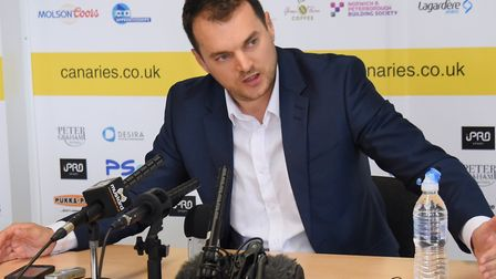 Sporting director Stuart Webber is the architect of a major turnaround at Norwich City Picture: Deni