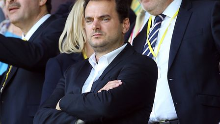 Norwich City sporting director Stuart Webber, pictured at Carrow Road earlier this season Picture: P