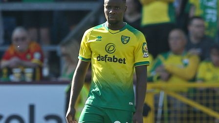 Ibrahim Amadou couldn't hide his disappointment after his part in the second goal Norwich City conce