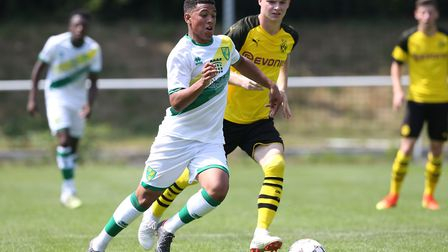 Caleb Richards starred in the Tampa Bay Rowdies 6-1 win at the weekend. Picture: Paul Chesterton/Foc