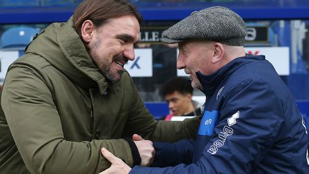 Daniel Farke's first City win came at Carrow Road against Ian Holloway's QPR. Picture: Paul Chestert