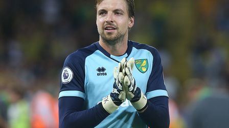 Tim Krul is hoping his Premier League form can earn him a Holland recall Picture: Paul Chesterton/Fo