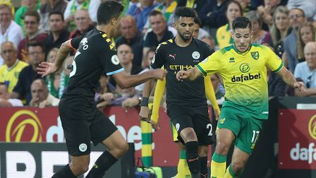 Emi Buendia put in a wonderful performance in Norwich's 3-2 victory over Manchester City at Carrow R