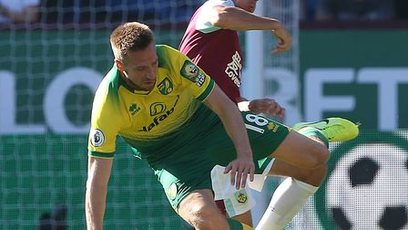 Burnley's physical approach caught out Norwich City early on in a 2-0 Premier League defeat Picture: