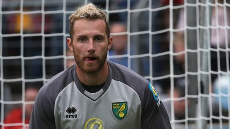 Ralf Fahrmann of Norwich during the Pre-season friendly match at Energieversum Stadion, GuterslohPic