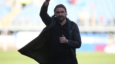Daniel Farke thanked the away fans at Turf Moor