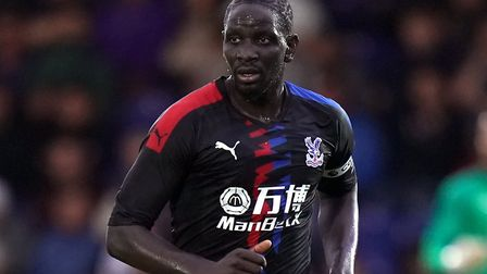 Crystal Palace defender Mamadou Sakho is a fitness doubt for the Eagles Picture: John Walton/PA