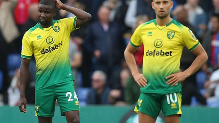 Norwich City lost again on the road in the Premier League at Crystal Palace Picture: Paul Chesterton