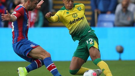Jamal Lewis suffered an elbow injury in Saturday's 2-0 to Crystal Palace. Picture: Paul Chesterton/F