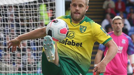 Teemu Pukki in action for Norwich City during Saturday's 2-0 defeat at Crystal Palace Picture: Paul