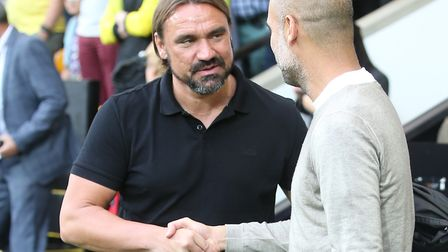 Daniel Farke is now mixing it with the very best at Norwich City in the Premier League Picture: Paul