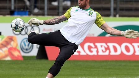 Norwich City loan keeper Ralf Fahrmann is set to replace the injured Tim Krul at Crystal Palace Pict