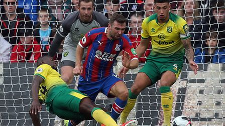 Ibrahim Amadou's rash first half challenge on James McArthur conceded a penalty in Norwich City's Pr