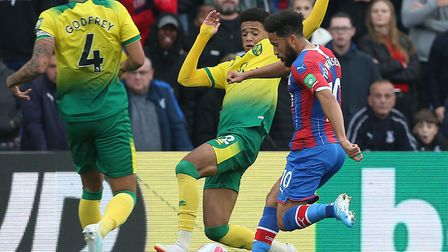 Andros Townsend sealed a 2-0 win for Crystal Palace with this late strike against Norwich City at Se