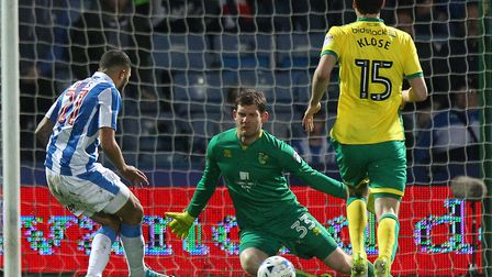 Michael McGovern's last league appearance for Norwich City was a 3-0 loss at Huddersfield in April 2