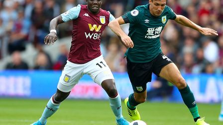 Marvelous Nakamba, left, has made a bright start to life at Aston Villa after an £11m switch from Cl