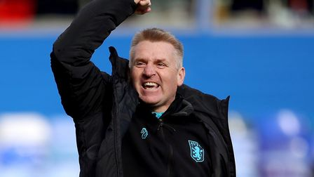 Dean Smith took over at Villa midway through last season and led his boyhood club to play-off final