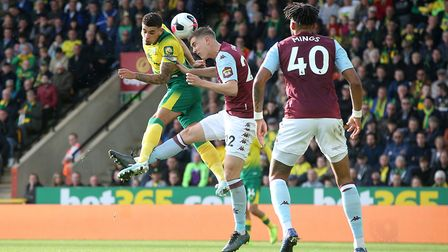Norwich City defender Ben Godfrey is in Germany for a hernia operation Picture: Paul Chesterton/Focu