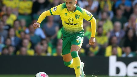 Max Aarons is poised to make his 50th appearance for Norwich City Picture: Paul Chesterton/Focus Ima