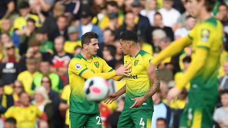 Tempers flared between the Norwich City players at times during defeat to Aston Villa, with Kenny Mc