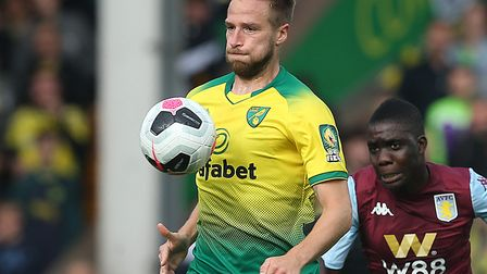 Marco Stiepermann is yet to score for Norwich City in the Premier League Picture: Paul Chesterton/Fo