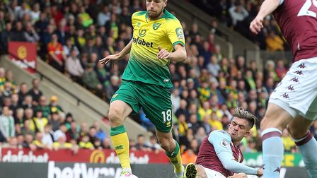 Marco Stiepermann couldn't find the back of the net against Aston Villa Picture: Paul Chesterton/Foc