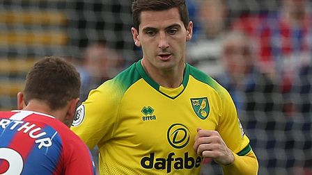 Norwich City midfielder Kenny McLean has pulled out of the Scotland squad due to injury Picture: Pau