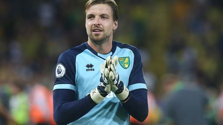 Tim Krul has been a big miss for the Canaries Picture: Paul Chesterton/Focus Images Ltd