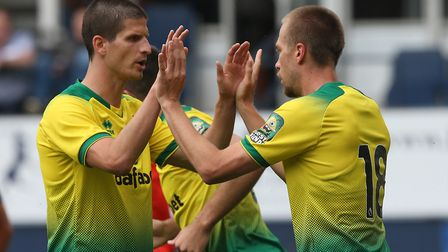 Timm Klose should start at Liverpool, in the absence of the injued Christoph Zimmermann Picture: Pau