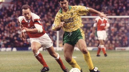 Mark Bowen made 399 appearances for Norwich City, many of them in the top flight Picture: Archant li