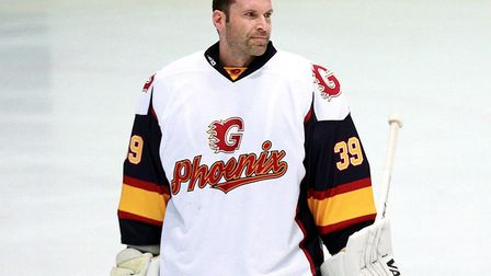 Chelsea legend Petr Cech made his debut as a goaltender for Guildford Phoenix Picture: Ian Walton/PA