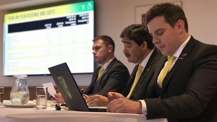 From L-R. Chief Operating Officer, Ben Kensell, Director, Stephan Phillips and Chief Financial Offic