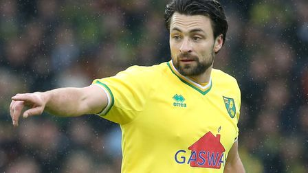 Russell Martin, pictured during the Team Wes v Team Russ charity exhibition game at Carrow Road earl