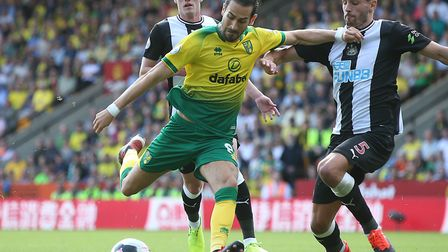 Mario Vrancic has been restricted to two brief Premier League appearances for Norwich City so far th